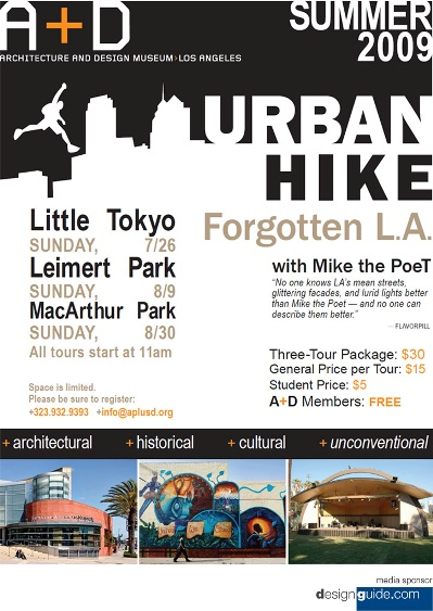 A+D/LA Urban Hike Tours!