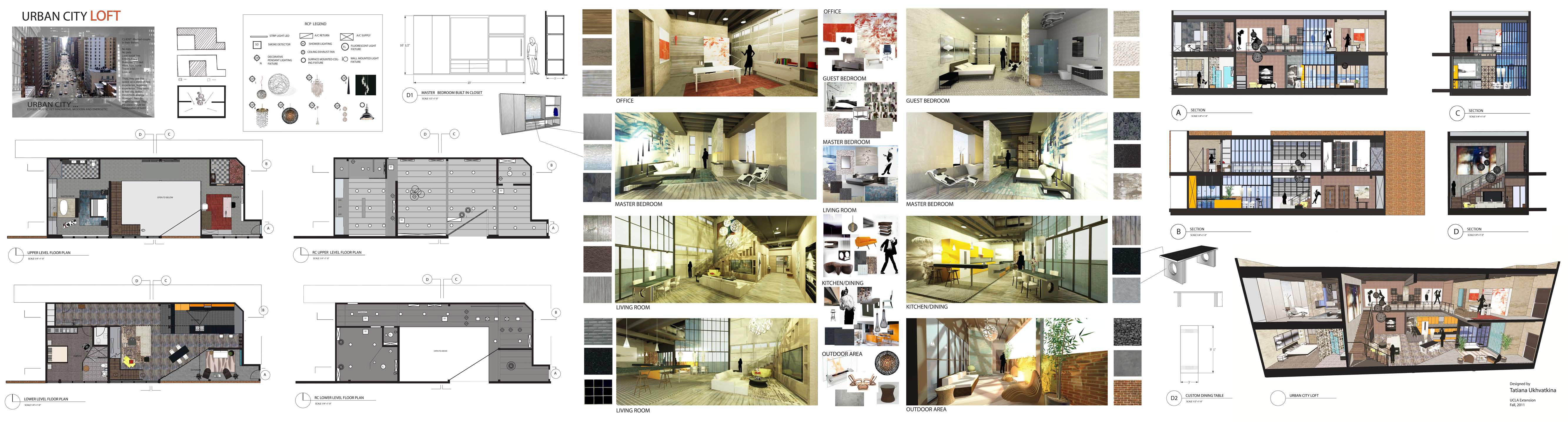 Student Projects Architecture Interior Design