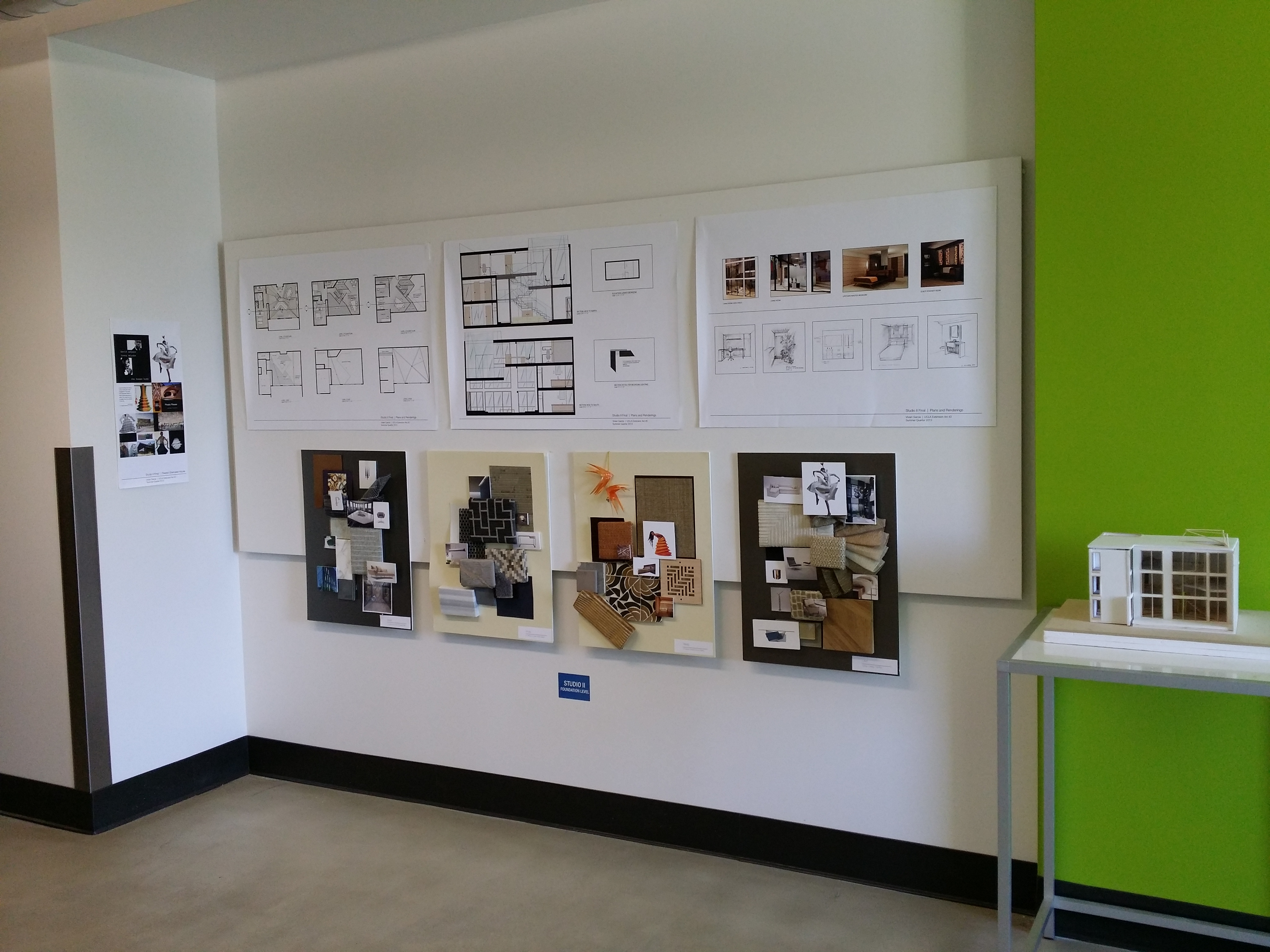 We Encourage Everyone To Stop By The 1010 Westwood Center Building To See  All Of The Amazing Work That Is Being Produced From Our Students!