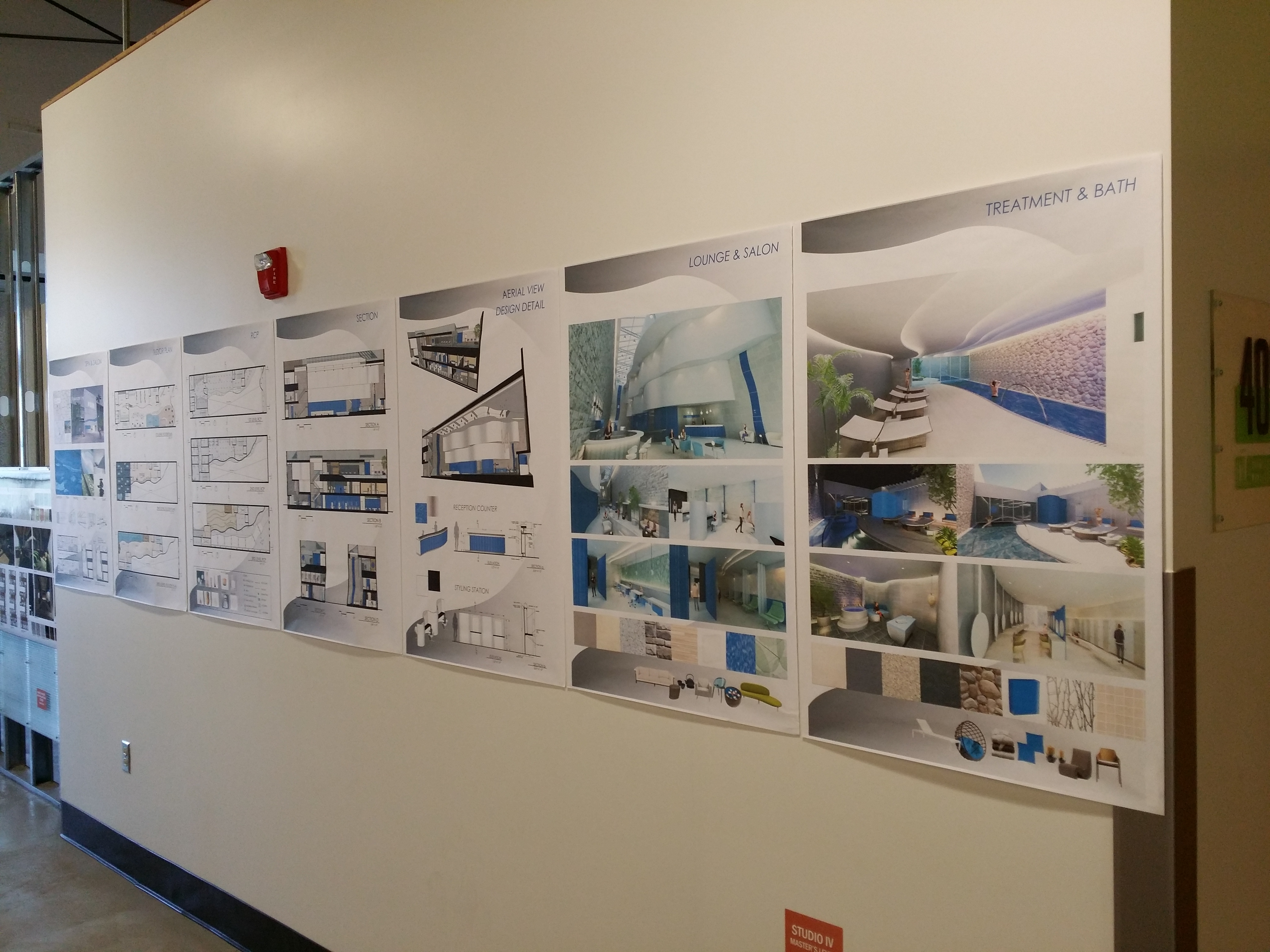 Cida Accreditation Review Student Projects On Display At 1010 Westwood Center Architecture