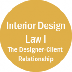 Interior Design Law I