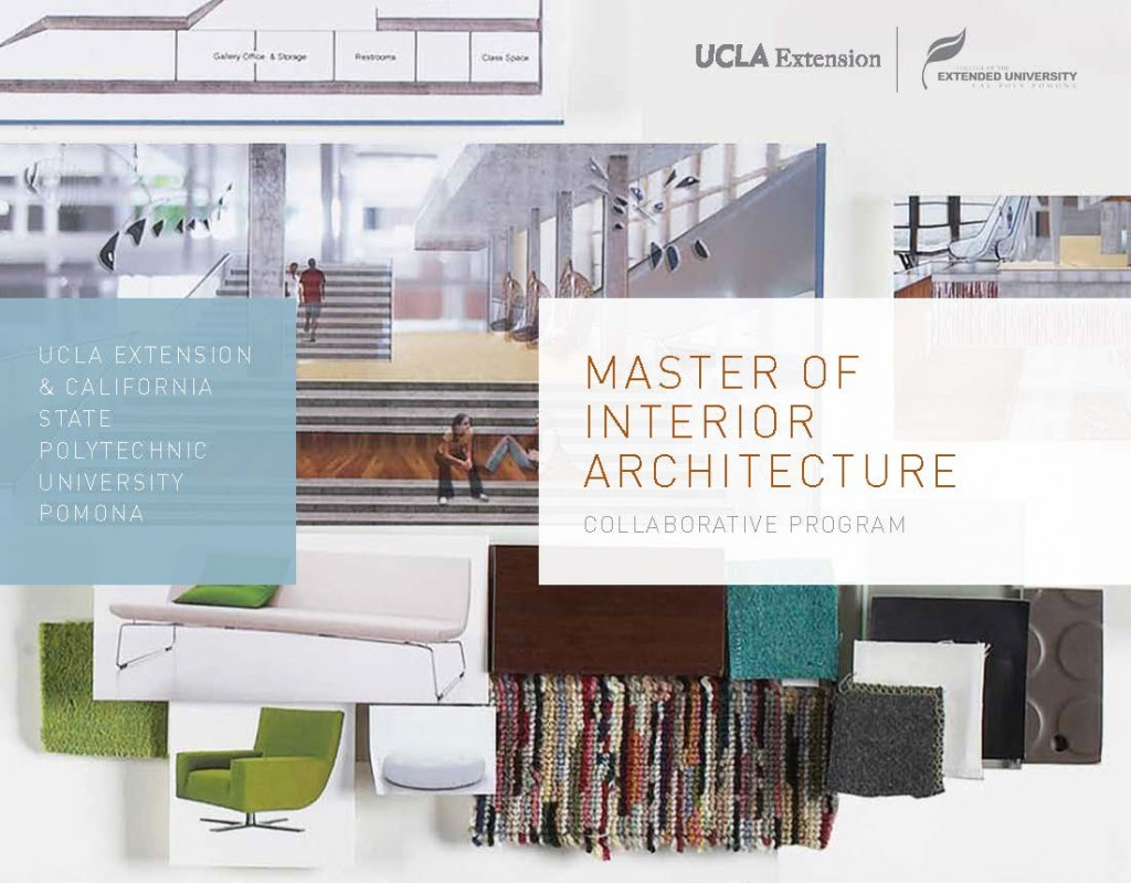 The master of interior architecture brochure won a marketing award architecture interior design for Master of interior architecture ucla