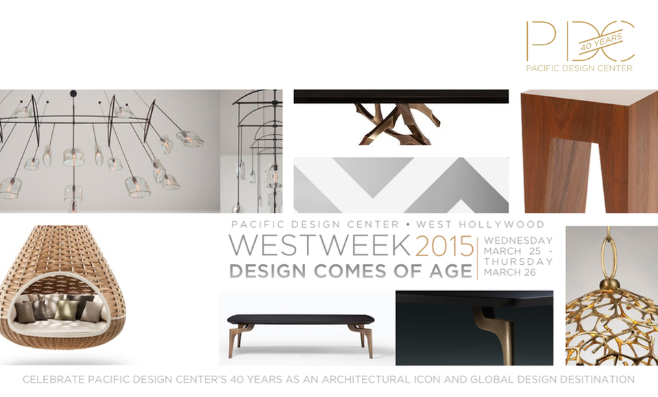 Get Ready For Westweek 2015 At The Pacific Design Center Architecture Interior Design