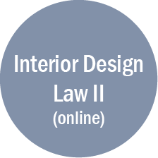Interior Design Law II-online