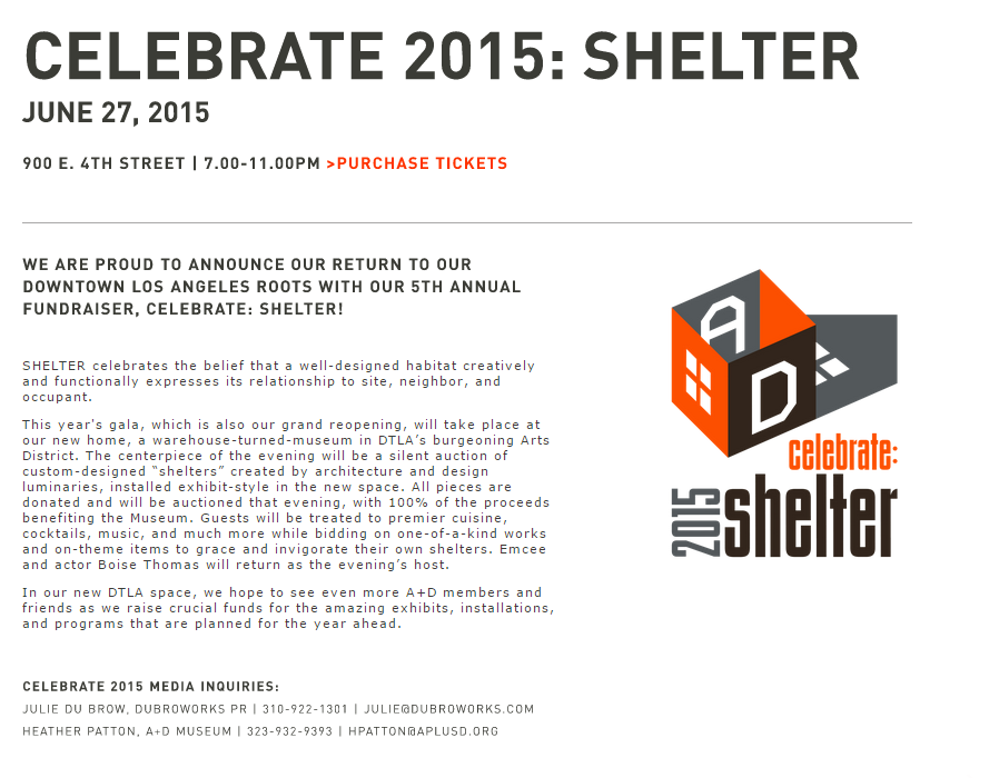 celebrate shelter 2015 announcement