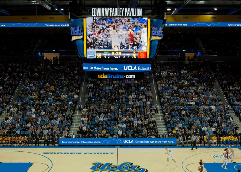 Pauley pavilion architecture interior design for Master of interior architecture ucla