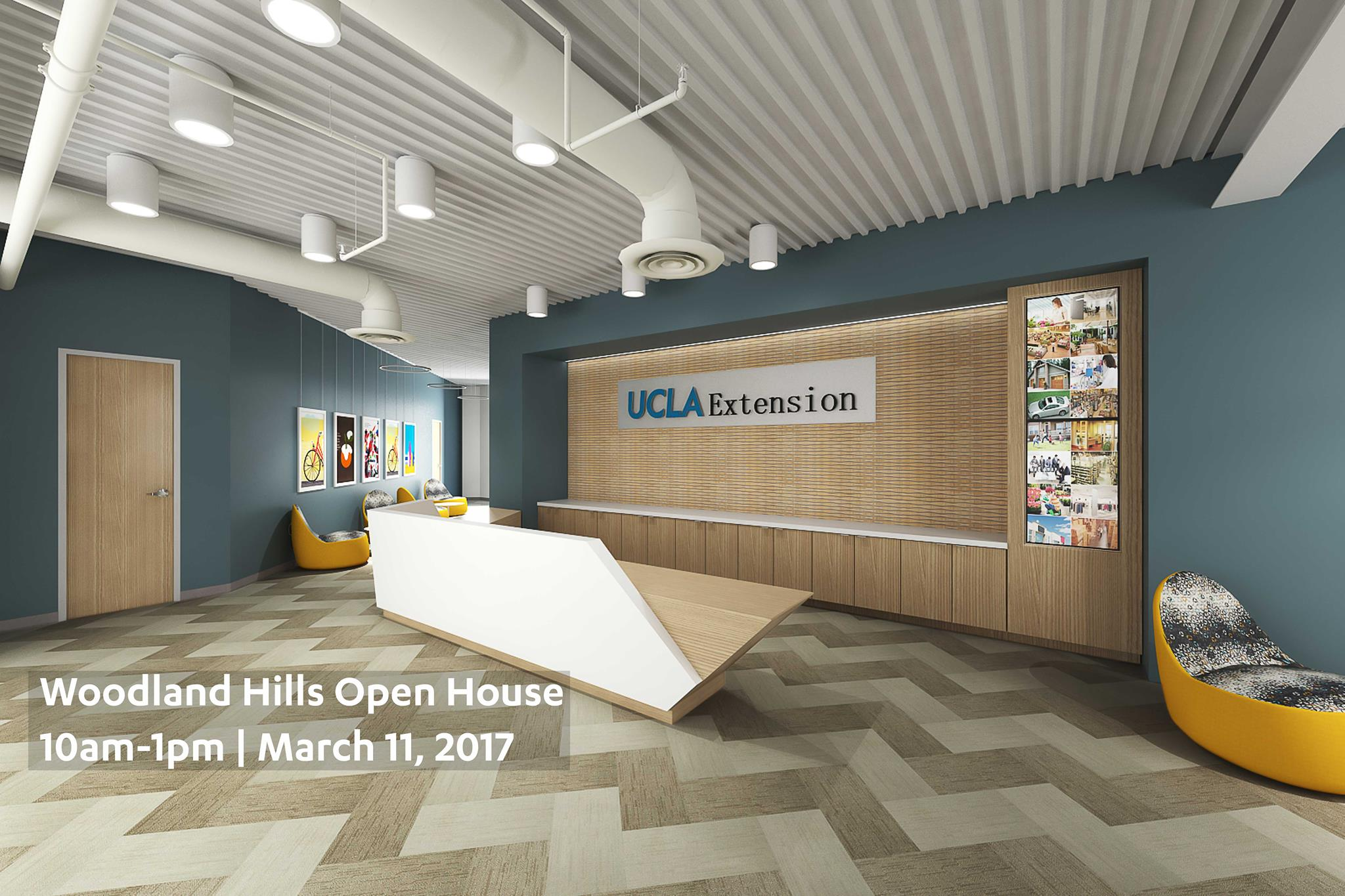 Ucla Extension Woodland Hills Grand Opening And Reception Architecture Interior Design