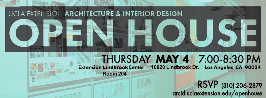 ArcID Open House May 4th Architecture Interior Design