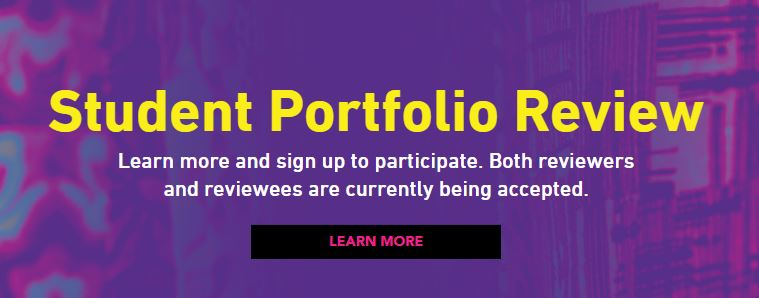 Student Portfolio Review at BDWest: Wednesday, March 13