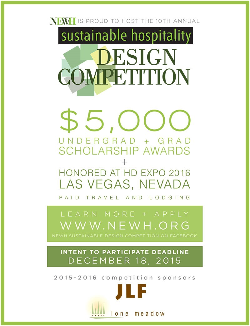 Sustainable Hospitality Design Competition